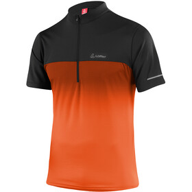 Löffler Flow Half-Zip Bike Shirt Men pumpkin